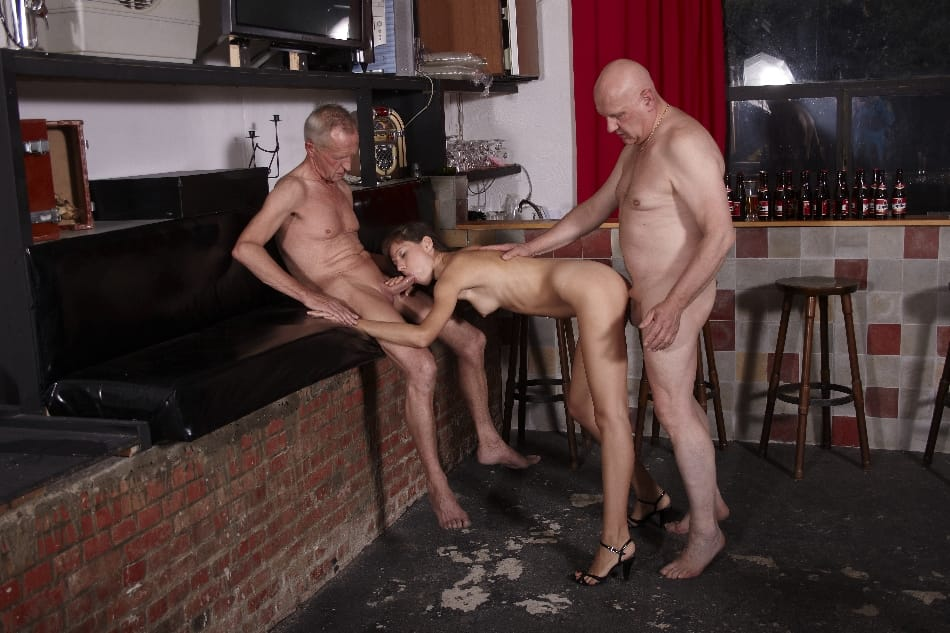 beauty-and-the-senior-hot-babe-double-teamed