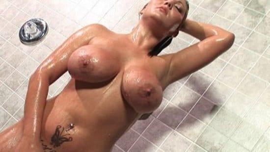 fakehub-claire-dames-showering-massive-tits