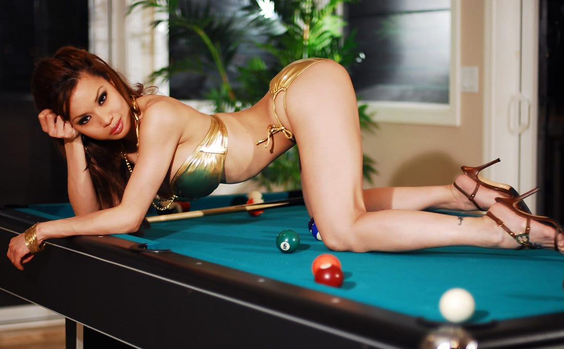 francine-dee-stripping-on-the-pool-table