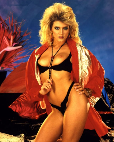ginger lynn gorgeous ginger in sexy lingerie