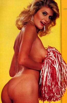 ginger lynn is a sexy cheerleader