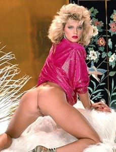 ginger lynn showing off her goodies