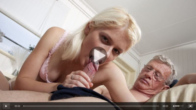 Teen Fucks Old Man Money
