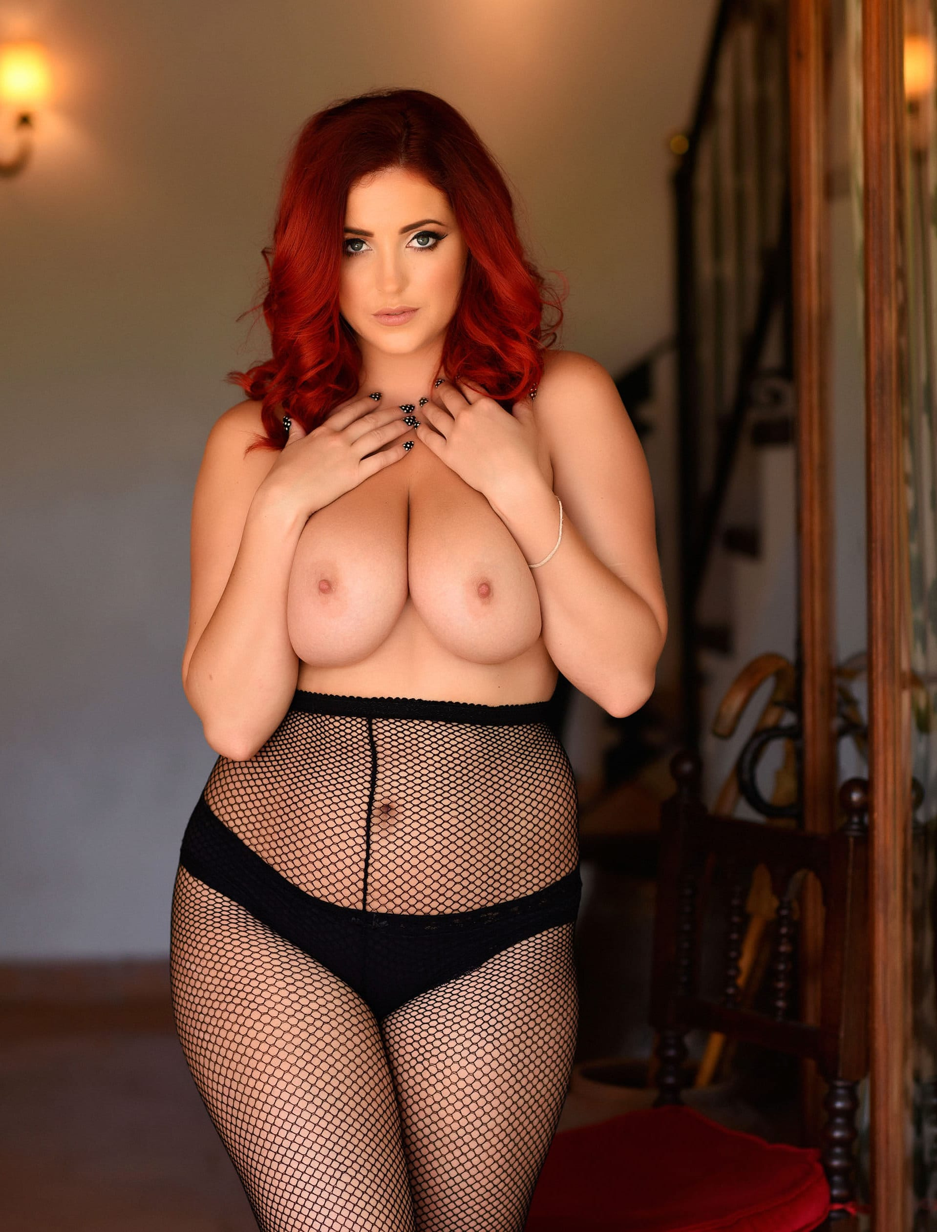 lucy-collett-naughty-in-black-nylons