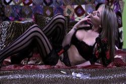 smoking_models_videos_danielle_maye_seductive_smoker
